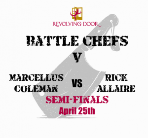 Battle Chefs Revolving Door