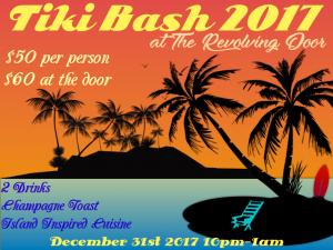 NYE Tiki Bash at Revolving Door