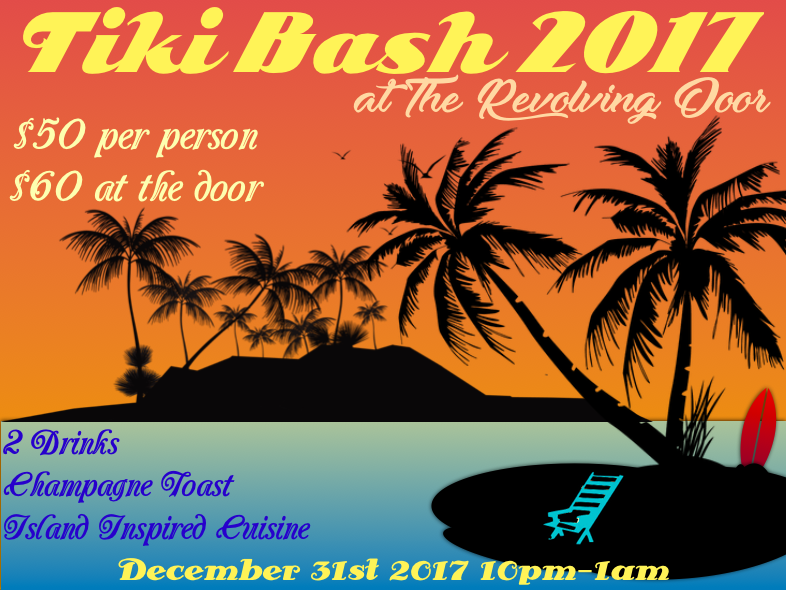 NYE Tiki Bash at Revolving Door