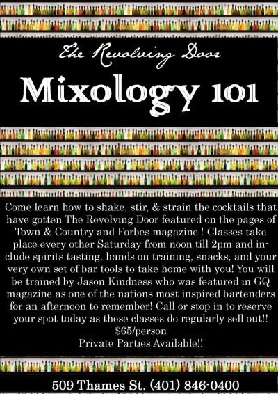Mixology 101